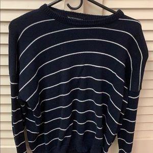 Brandy Melville Navy Striped Sweater